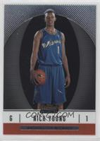 2007-08 Rookie - Nick Young #/539
