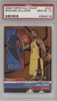 Shelden Williams /999 [PSA 10]