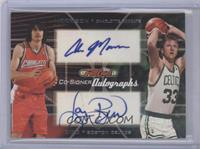 Adam Morrison, Larry Bird