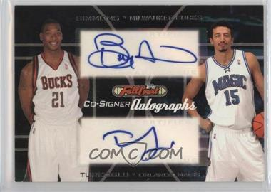 2006-07 Topps Full Court - Co-Signers Autographs #CS-20 - Bobby Simmons, Hedo Turkoglu