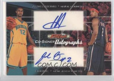 2006-07 Topps Full Court - Co-Signers Autographs #CS-28 - Hilton Armstrong, Josh Boone