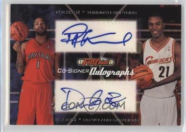 2006-07 Topps Full Court - Co-Signers Autographs #CS-32 - P.J. Tucker, Daniel Gibson