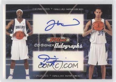 2006-07 Topps Full Court - Co-Signers Autographs #CS-35 - Devin Harris, Josh Howard