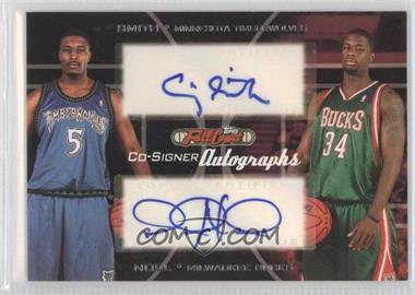 2006-07 Topps Full Court - Co-Signers Autographs #CS-42 - David Noel, Craig Smith