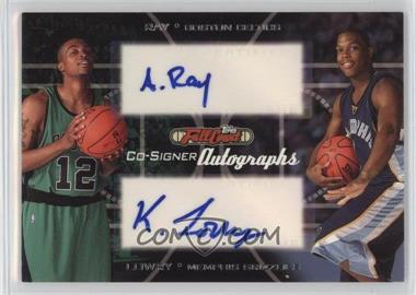 2006-07 Topps Full Court - Co-Signers Autographs #CS-45 - Kyle Lowry, Allan Ray