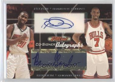 2006-07 Topps Full Court - Co-Signers Autographs #CS-47 - Raymond Felton, Ben Gordon