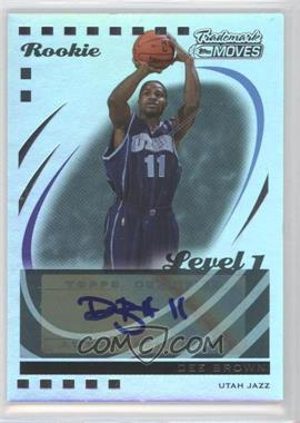 2006-07 Topps Trademark Moves - [Base] - Rainbow #150 - Dee Brown /19