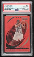 Tim Duncan [PSA 10 GEM MT] #/35
