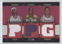 Allen Iverson, Kobe Bryant, Tracy McGrady /36