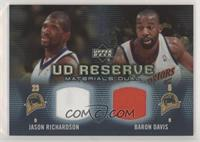 Jason Richardson, Baron Davis /50