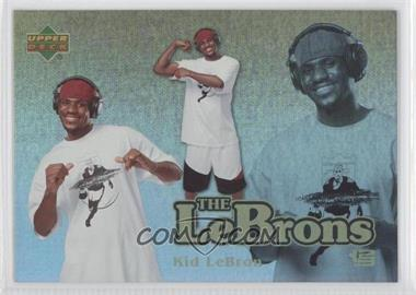 2006-07 UD Reserve - The Lebrons - Gold #LBJ-6 - Lebron James