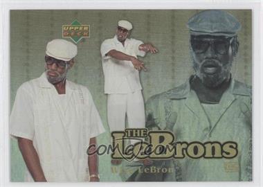 2006-07 UD Reserve - The Lebrons - Gold #LBJ-8 - Lebron James