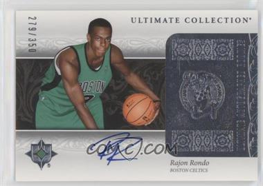 2006-07 Ultimate Collection - [Base] #209 - Rajon Rondo /350