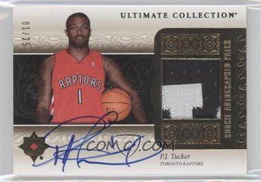 2006-07 Ultimate Collection - Rookie Autographed Patch - [Autographed] #URAP-PT - P.J. Tucker /25