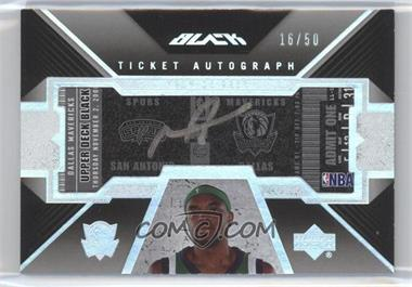 2006-07 Upper Deck Black - Ticket Autograph #AT-MA - Maurice Ager /50