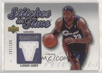 Lebron James [Noted] #/199