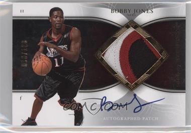 2006-07 Upper Deck Exquisite Collection - Autograph Patches - [Autographed] #AP-BJ - Bobby Jones /100