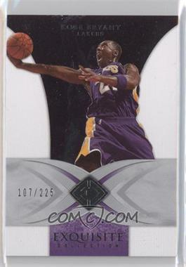 2006-07 Upper Deck Exquisite Collection - [Base] #18 - Kobe Bryant /225