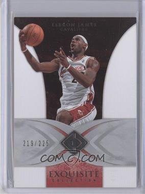 2006-07 Upper Deck Exquisite Collection - [Base] #7 - Lebron James /225