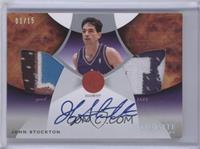 John Stockton [Noted] #/15