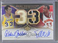 Kareem Abdul-Jabbar, Shelden Williams /33