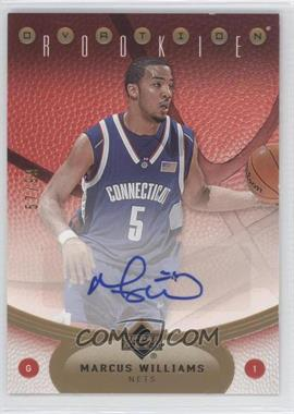 2006-07 Upper Deck Ovation - [Base] - Gold #106 - Marcus Williams /99
