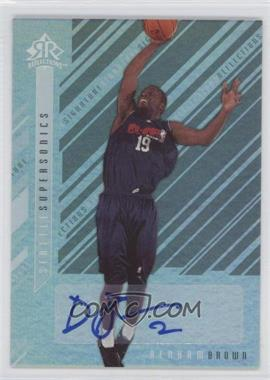 2006-07 Upper Deck Reflections - Signature Reflections - [Autographed] #SR-BN - Denham Brown