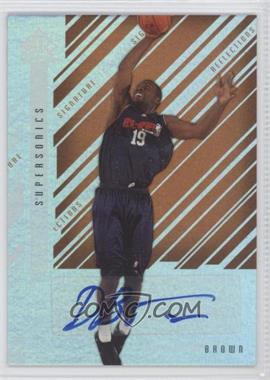 2006-07 Upper Deck Reflections - Signature Reflections - Copper [Autographed] #SR-BN - Denham Brown /20