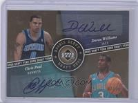 Deron Williams, Chris Paul /25
