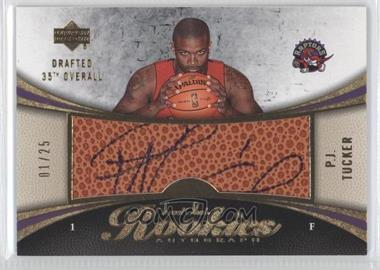 2006-07 Upper Deck Sweet Shot - [Base] - Gold #107 - P.J. Tucker