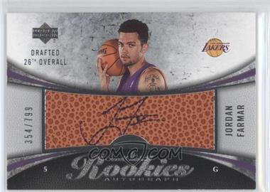 2006-07 Upper Deck Sweet Shot - [Base] #98 - Jordan Farmar /799