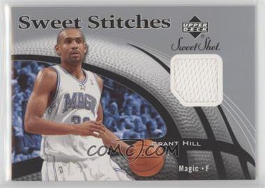 2006-07 Upper Deck Sweet Shot - Sweet Stitches Memorabilia #SS-GH - Grant Hill