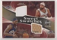 Drew Gooden, LeBron James #/25