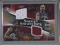 Lebron James, Jason Kidd #/25