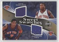 Nate Robinson, Channing Frye #/25