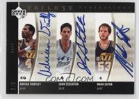 John Stockton, Mark Eaton, Adrian Dantley /3