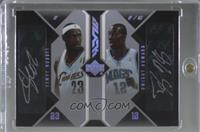 LeBron James, Dwight Howard #/25