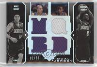 Mike Bibby, Quincy Douby /50