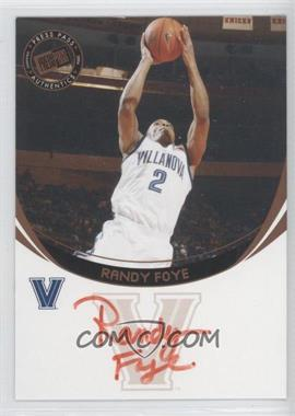 2006 Press Pass - Autographs - Bronze Red Ink #RAFO.2 - Randy Foye (Red Ink)