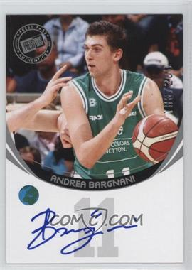2006 Press Pass - Autographs - Silver #ANBA - Andrea Bargnani /200
