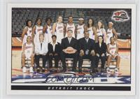 Detroit Shock (WNBA) Team