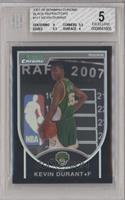Kevin Durant [BGS 5 EXCELLENT] #/199