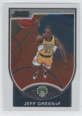 2007-08 Bowman Draft Picks & Stars - Chrome #114 - Jeff Green /2999