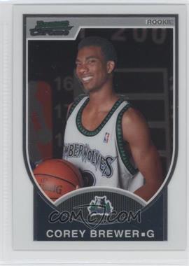 2007-08 Bowman Draft Picks & Stars - Chrome #115 - Corey Brewer /2999