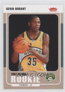 2007-08 Fleer - [Base] #212 - Kevin Durant