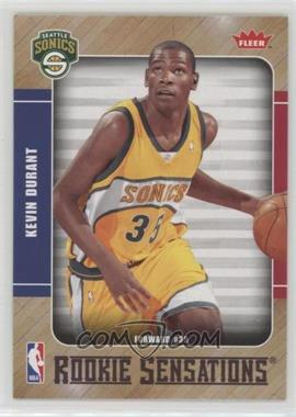 2007-08 Fleer - Rookie Sensations #RS-2 - Kevin Durant