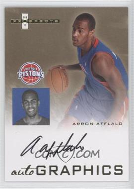 2007-08 Fleer Hot Prospects - Autographics #AU-AA.1 - Arron Afflalo