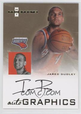 2007-08 Fleer Hot Prospects - Autographics #AU-JD - Jared Dudley