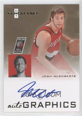2007-08 Fleer Hot Prospects - Autographics #AU-JM - Josh McRoberts
