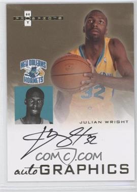 2007-08 Fleer Hot Prospects - Autographics #AU-JW - Julian Wright